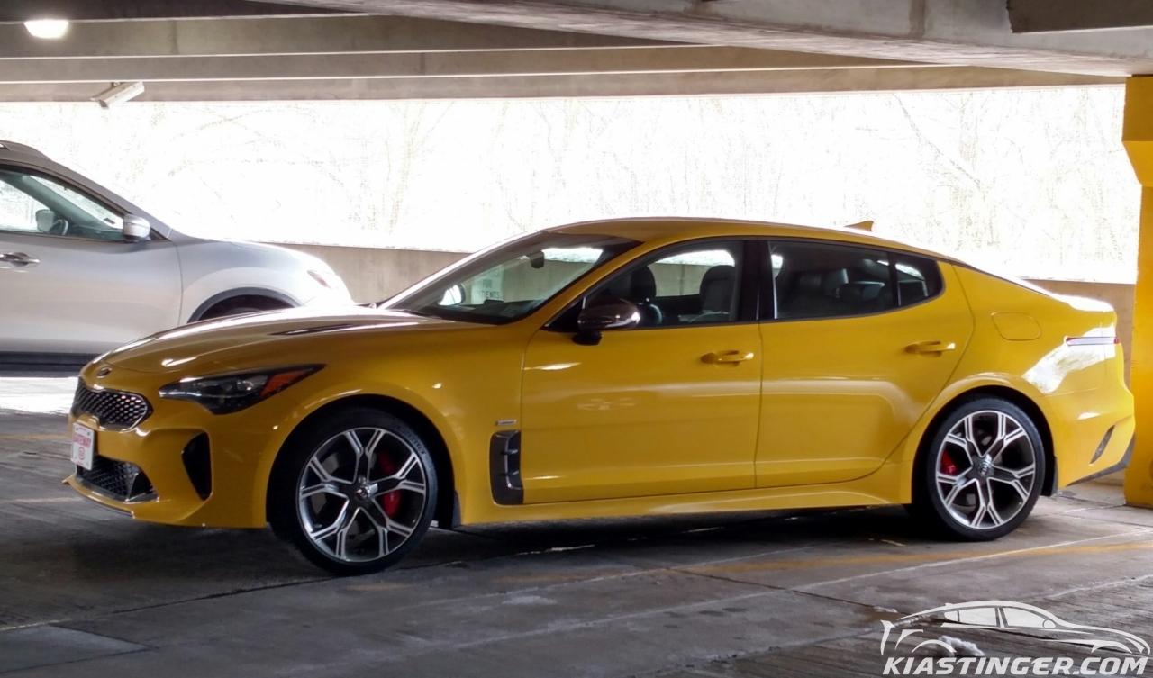 Kia Of Muncie >> Album: Sunset Yellow GT   Kia Stinger Forum