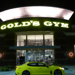 """Precious 3"" goes to Gold's Gym"
