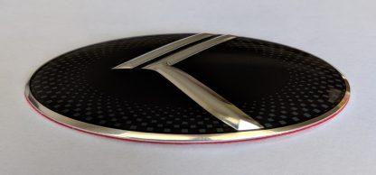 steering wheel emblem front angle